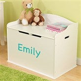KidKraft Personalized Austin Toy Box - Vanilla - 11165D-V