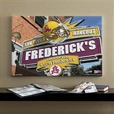 Arizona State Sun Devils Collegiate Personalized Pub Sign Canvas- 16x24 - 11169-M
