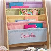 KidKraft Little Readers Personalized Sling Bookcase - Pastel - 11174D-PL