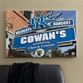 Kentucky Wildcats Collegiate Personalized Pub Sign Canvas- 24x36 - 11182-L