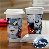 Disney® Personalized Mickey Mouse Reusable Travel Tumbler - 11191