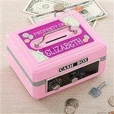 My Private Stash Personalized Cash Box  - Pink - 11192-P