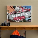 Ohio State Buckeyes Collegiate Personalized Pub Sign Canvas- 12x18 - 11200-S