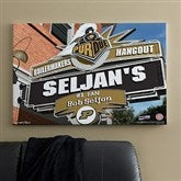 Purdue Boilermakers Collegiate Personalized Pub Sign Canvas- 24x36 - 11202-L