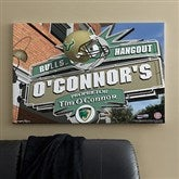 South Florida Bulls Collegiate Personalized Pub Sign Canvas- 24x36 - 11203-L