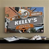 Tennessee Vols Collegiate Personalized Pub Sign Canvas- 16x24 - 11205-M