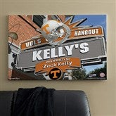 Tennessee Vols Collegiate Personalized Pub Sign Canvas- 24x36 - 11205-L