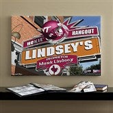 Virginia Tech Hokies Collegiate Personalized Pub Sign Canvas- 16x24 - 11208-M