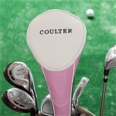 Performance Pink Golf Club Cover - Name - 11209-N