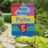 Birthday Time© Personalized Garden Flag - 11213