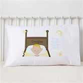 His Bedtime Prayer Personalized Character Pillowcase - 11231