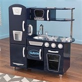 KidKraft Personalized Vintage Kitchen- Navy - 11234D-N