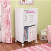 Kid's Personalized Storage Locker- White - 11236D-W