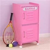 Kid's Personalized Storage Locker- Bubblegum Pink - 11236D-BU