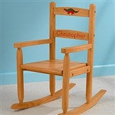 Our Chair Rocks! KidKraft Personalized 2-Slat Rocker - Honey - 11240D-H