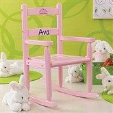Our Chair Rocks! KidKraft Personalized 2-Slat Rocker - Pink - 11240D-P