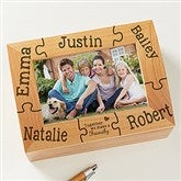 Together We Make a Family Personalized Photo Keepsake Box - 11243