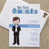 I'm The Communion Boy Personalized Communion Invitations - 11274