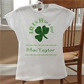 Irish For A Day© Junior Fitted T-Shirt - 11284-FT