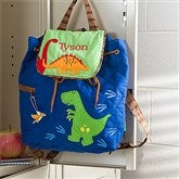 Dino Embroidered Backpack - 11295