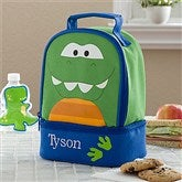 Dino Embroidered Lunch Bag by Stephen Joseph - 11299