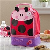 Ladybug Embroidered Lunch Bag - 11301