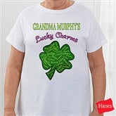 Grandma's Lucky Charms Personalized Hanes® T-Shirt - 11304-CT