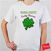 Grandma's Lucky Charms Black T-Shirt - 11304-BT