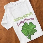 Grandma's Lucky Charms - White Adult T-Shirt - 11304-TS