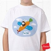 Retro Rabbit  Personalized Hanes® Youth T-Shirt - 11308-YCT