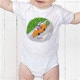 Retro Rabbit Easter Baby Bodysuit - 11308-CBB