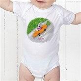 Retro Rabbit Easter Baby Bodysuit - 11308-CBB
