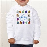 Colorful Eggs© Toddler Hooded Sweatshirt - 11309THS