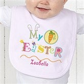 My First Easter Personalized Baby Bib - 11314-B