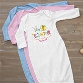 My First Easter Personalized Baby Gown - 11314-G