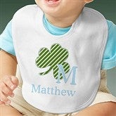 Shamrock Initial for Him© Bib - 11321-BIB