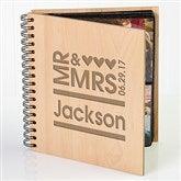 Mr. & Mrs. Personalized Photo Album - 11332