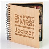 Mr. & Mrs. Personalized Photo Album - 11332