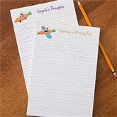 Retro Rabbit Personalized Notepad - 11334