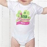 Little Irish Princess Personalized Baby Bodysuit - 11336-CBB