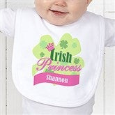 Little Irish Princess Personalized Infant Bib - 11336-B
