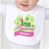 Little Irish Princess Personalized Infant Bib - 11336-B