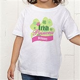Little Irish Princess Personalized Toddler T-Shirt - 11336TT