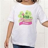 Little Irish Princess Personalized Toddler T-Shirt - 11336TT