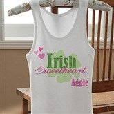 Irish Sweetheart! Personalized Ladies Tank - 11340-T