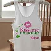 Kiss Me I'm Irish!© Personalized Junior Tank - 11341-T
