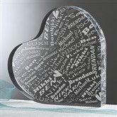 Her Heart Of Love Personalized Keepsake - 11345