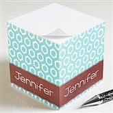 Her Design Personalized Paper Note Cube - 11349