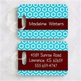 Her Design Personalized Luggage Tag Set - 11350