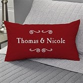 Our Life Together Personalized Lumbar Throw Pillow - 11351-LB